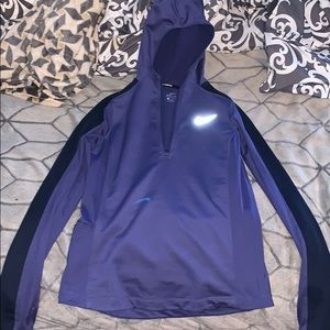 Dark Purple Nike Quarter-Zip